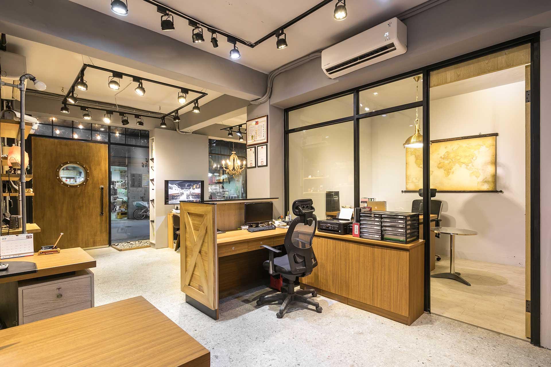 工業復古辦公室:玖恆智慧空間 – 室內設計裝潢案例