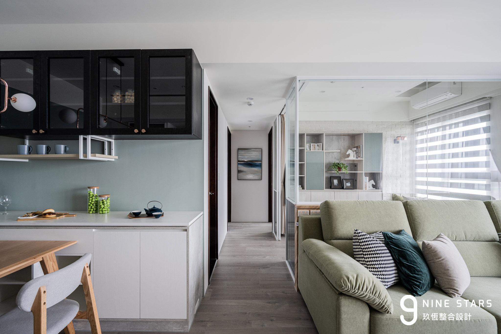 微型住宅:科技族新婚小窩 北歐混搭現代居家風格