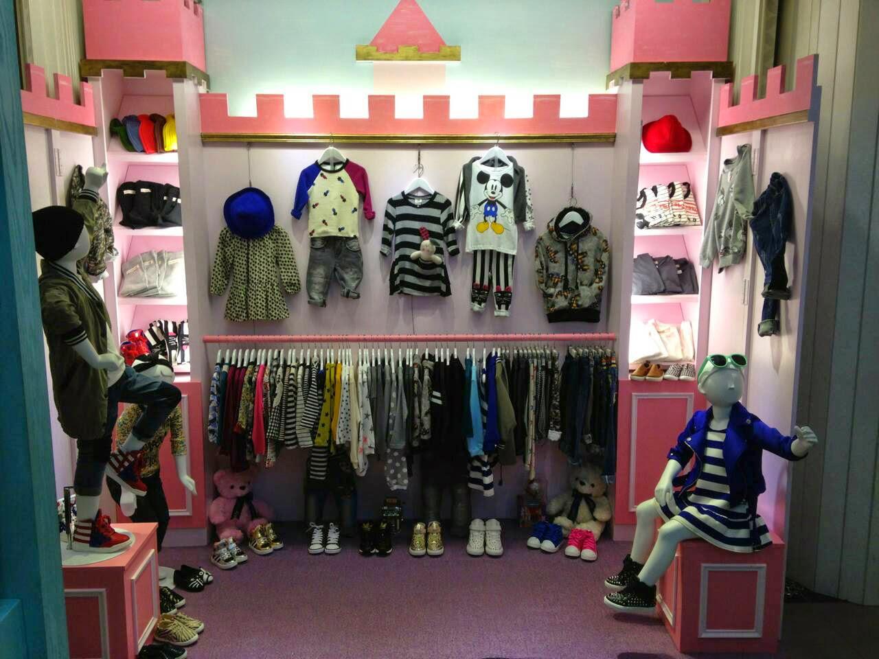 童裝服飾店面:Q da – 小坪數室內設計裝潢案例