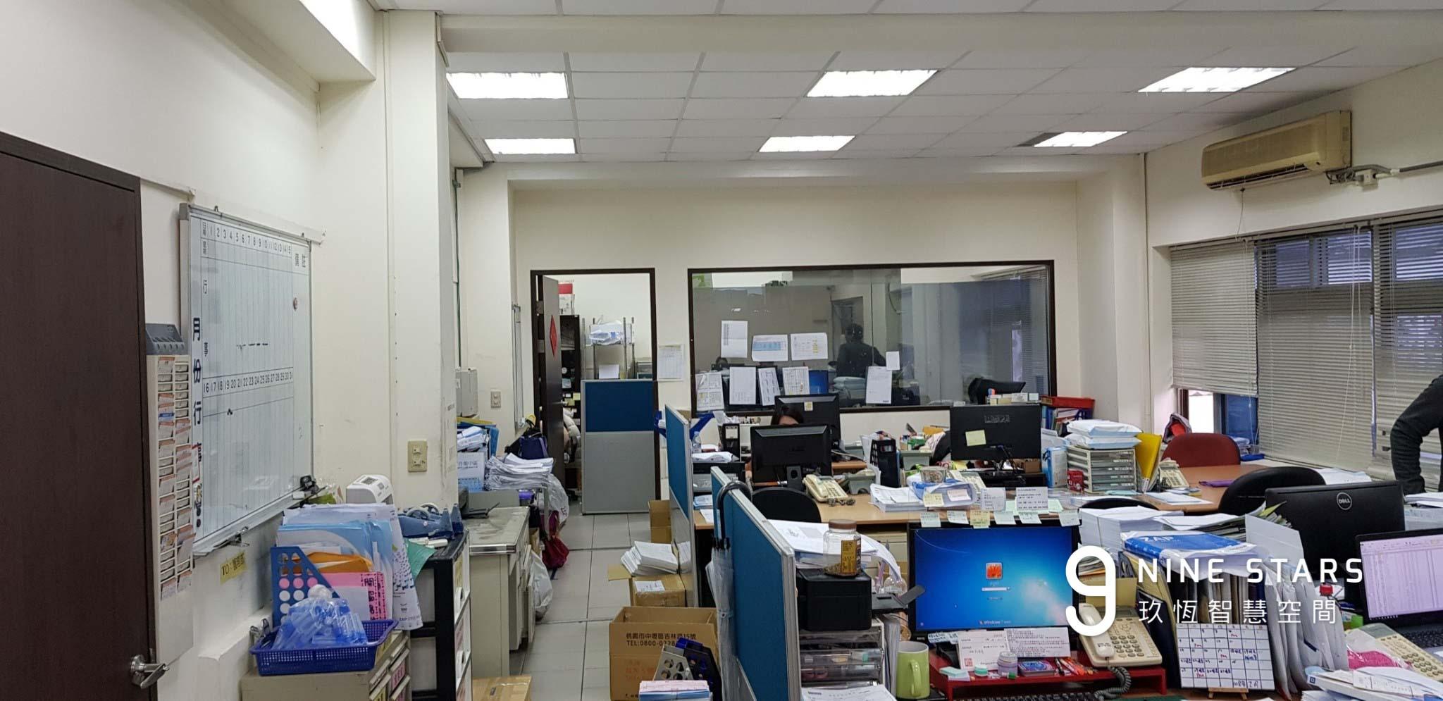 原本作為辦公室使用的空間