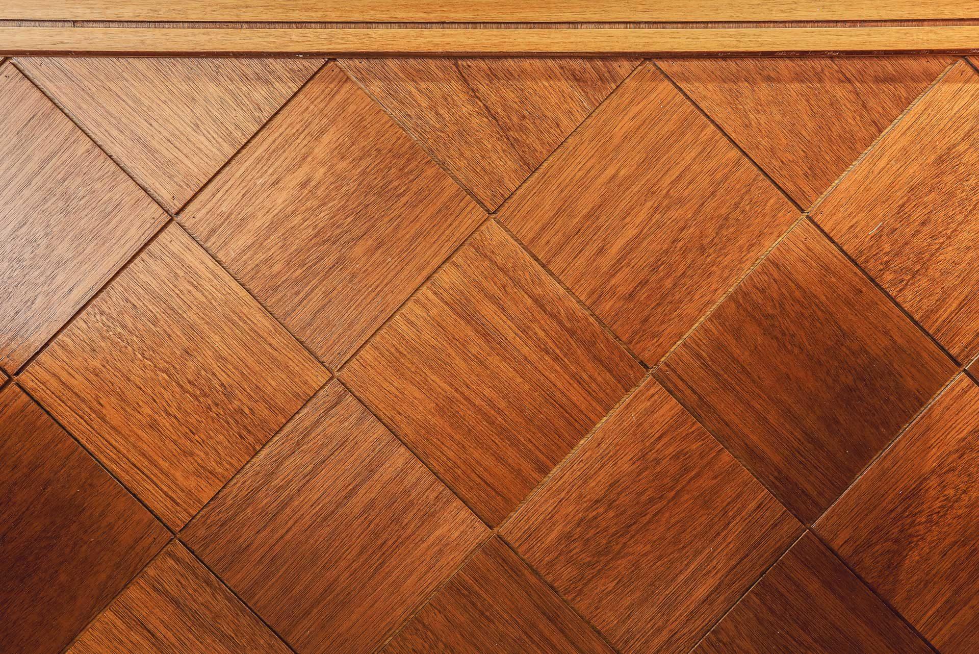 菱形牆板正面木紋方向特寫