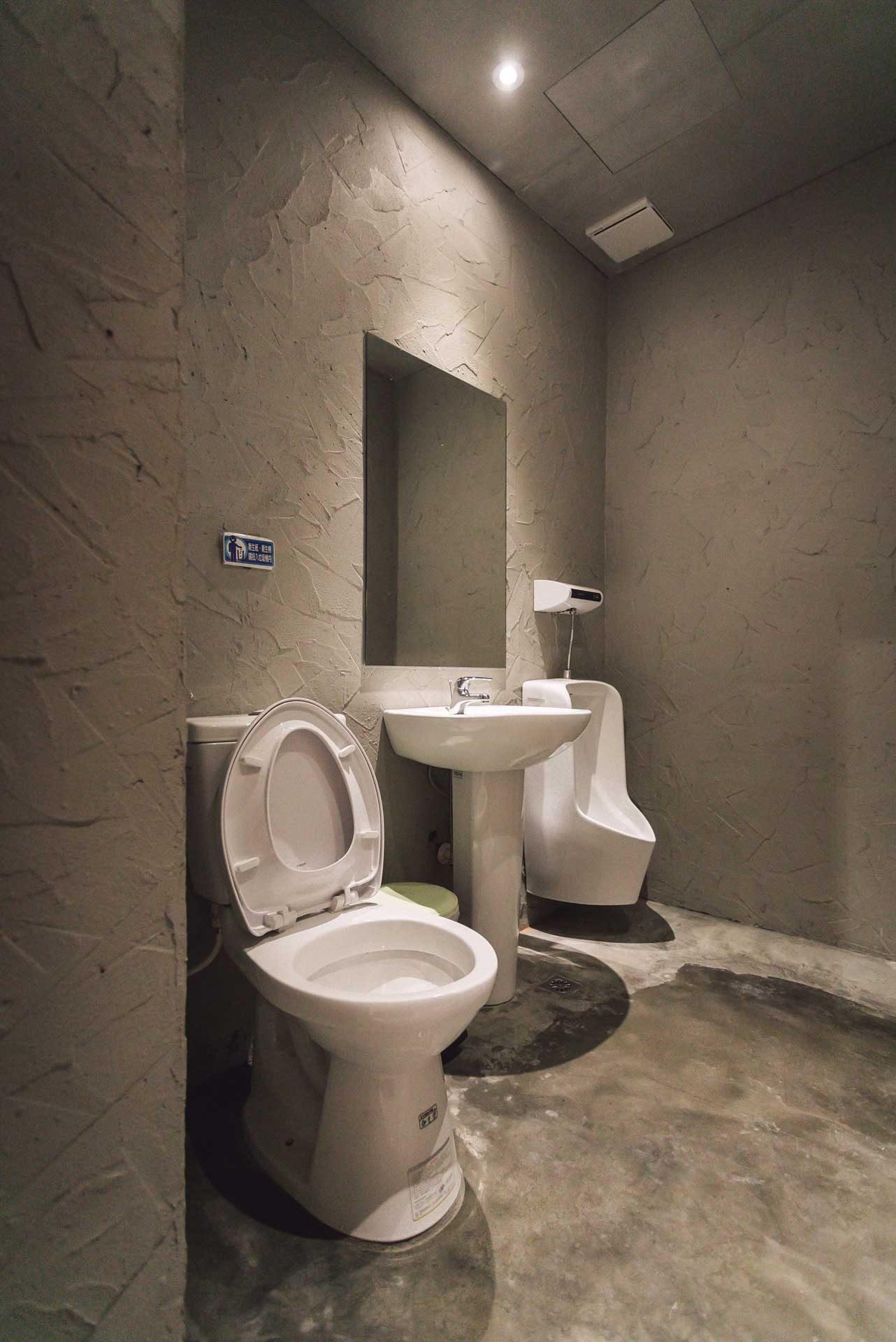 營造舒適氣氛的廁所空間