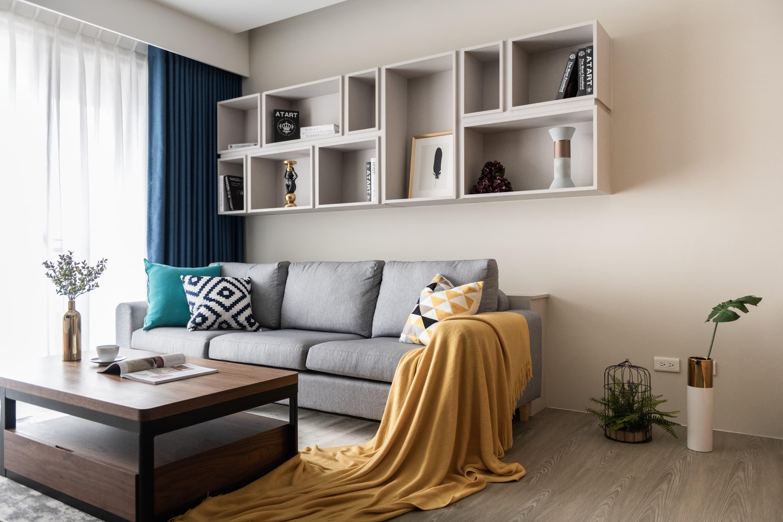 蘆洲築禾豐住宅室內設計-簡約光感互動新宅