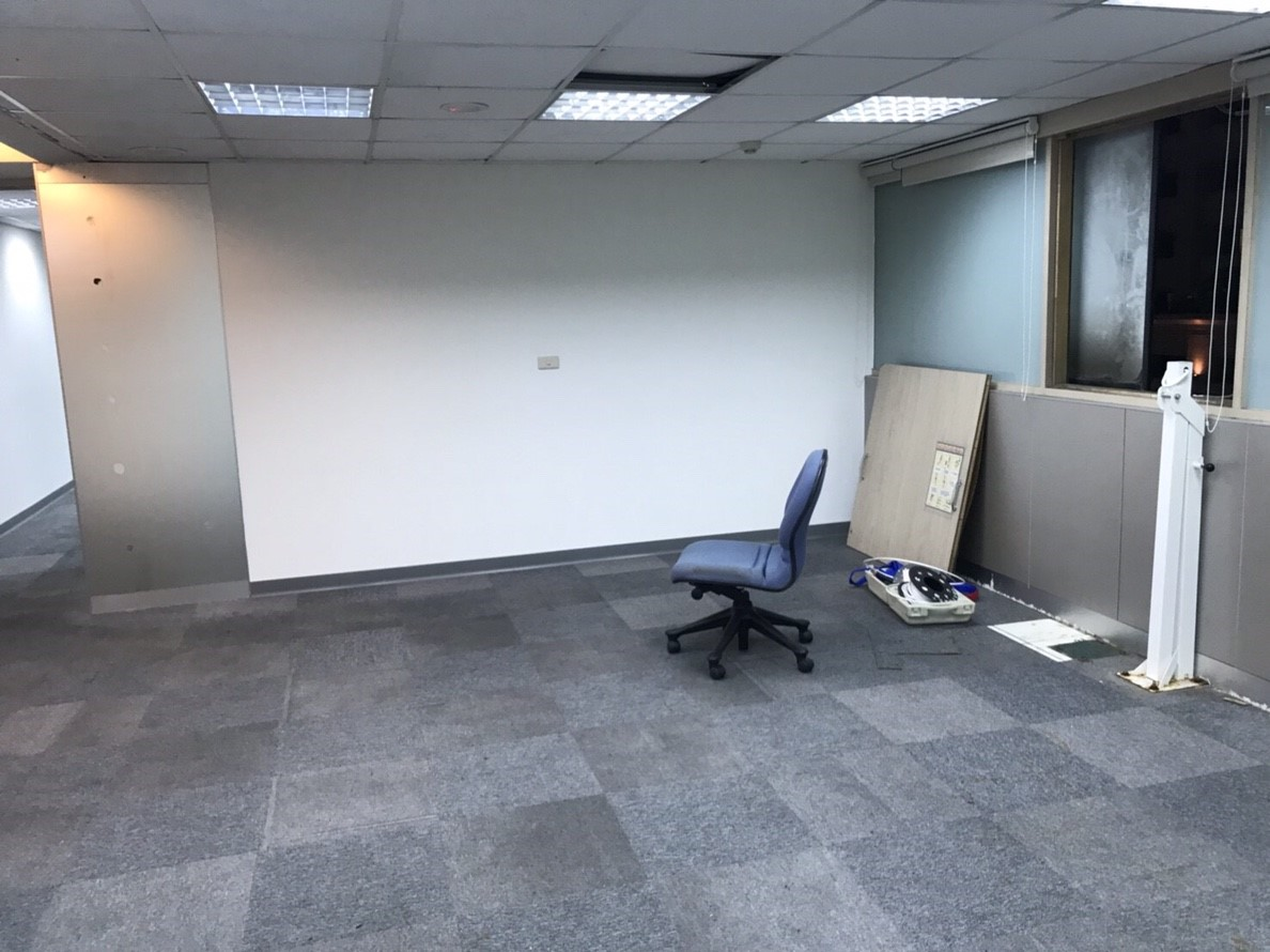 施工前的空間樣貌,天花板高度較低