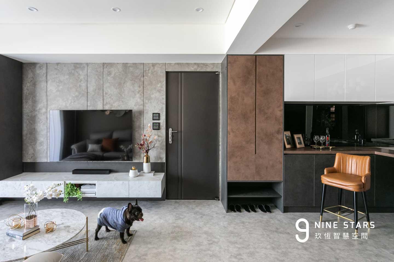 高貴不貴!25坪高雅時尚小宅 ,打造精緻與簡約的高質感生活